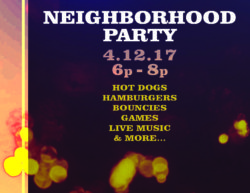 Neighborhood Party