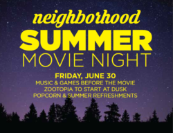 Neighborhood Movie Night