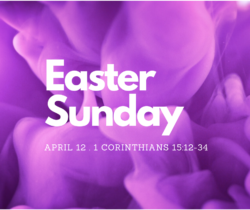 Easter Sunday 2020 - 1 Corinthians 15:12-26